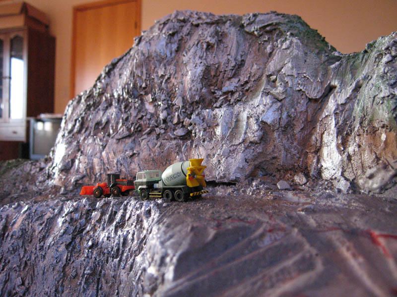 上越線レイアウト 山セクション3
