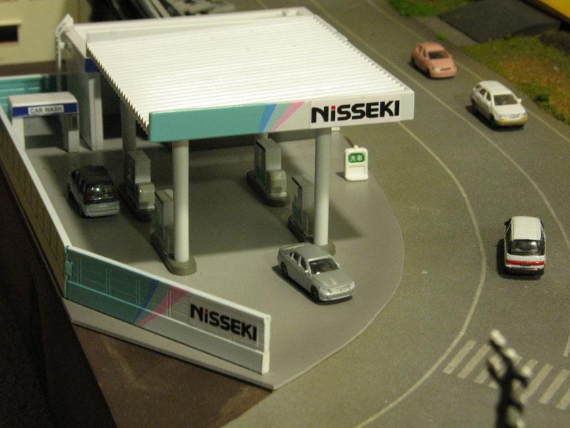 トミックスのガソリンスタンドで日石