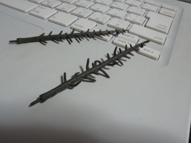 KATO 樹木キット針葉樹(小)を作ってみた その3
