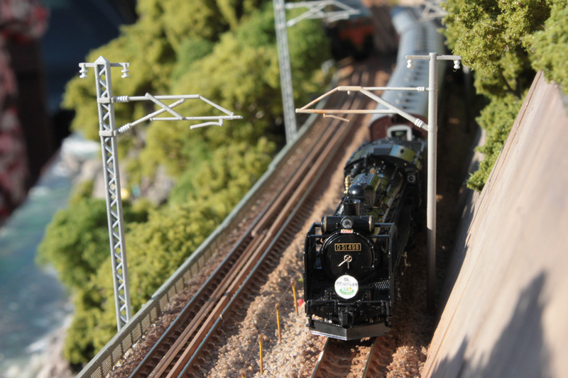 D51 498+高崎の旧客「快速SLググっとぐんま号」