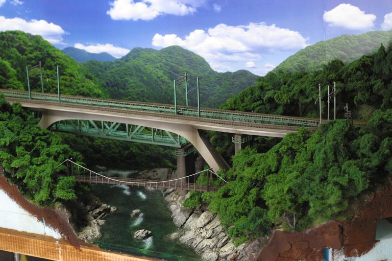 第八利根川橋梁セクション JAM直前
