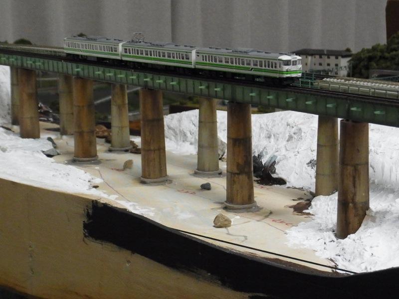第六利根川橋梁と第七利根川/第一吉本橋梁セクション その8