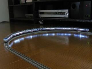 KATO 165系にマイクロエース室内灯を入れた