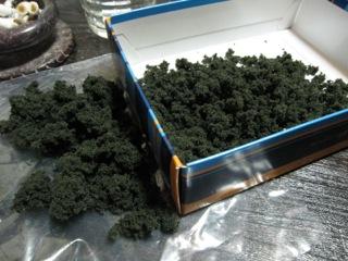 KATO 樹木キット針葉樹(小)を作ってみた その2