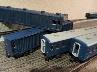 GM マニ44 と TOMIX マニ50