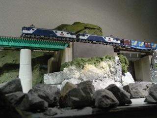 鉄橋セクション EF64&コキのせてみた