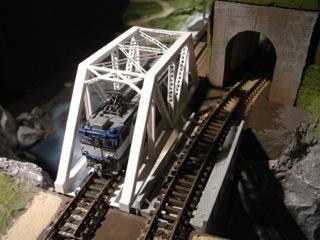 鉄橋セクション トラス橋