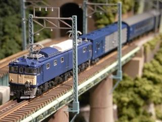 EF64 1000 夜行急行能登と鉄橋セクション