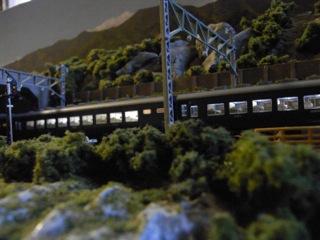 KATO 10系能登と諏訪峡セクション