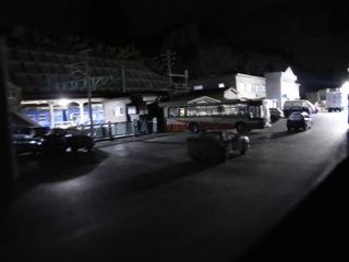 水上駅セクション 駅前の夜2