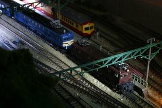 KATO EF58 35+EF16 急行能登 水上駅