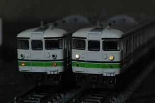 KATO 115系1000番台 新潟色のライトをLED化