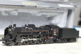TOMIX C61 20 をKATO D51 498と重連
