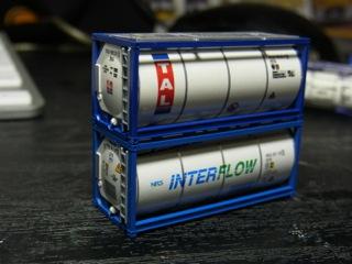 カトーのタンクコンテナでTALとINTERFLOW